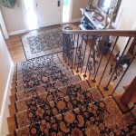 COURISTAN WOOL RUNNER WITH MATCHING ENTRY RUG MISSION KANSAS