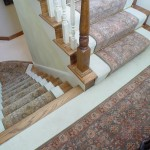 CUSTOM STAIR RUNNER INSTALLED IN LEAWOOD KS