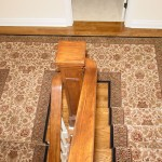 CUSTOM STIAR RUNNER INSTALLED IN HALL AND ON STAIRS MISSION KANSAS