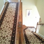 HALL RUNNER WITH MATCHING STAIR RUNNER LEAWOOD, KS