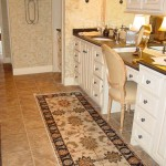 IVORY BLACK ORIENTAL RUNNER FOR A MUD ROOM OR OFFICE JOHNSON COUNTY KANSAS