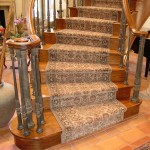 LDP Roll Runner wrapped install curved stair case