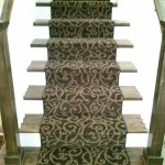 MASLAND CARPET INSTALLED AS STAIR RUNNER OVERLAND PARK, KS