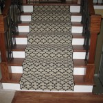 MASLAND CUSTOM RUNNER INSTALLED ON STAIRS LENEXA KANSAS