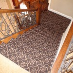 MASLAND TANGIER STAIR RUNNER INSTALLED OVERLAND PARK KS