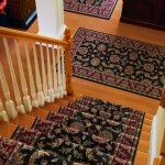 MOMENI WOOL BLACK STAIR RUNNER LEAWOOD KANSAS