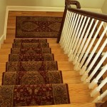 ORIENTAL STAIR RUNNER WITH MATCHING LANDING RUNNER NOT CONNECTED MISSION KANSAS