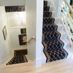 SPLIT LEVEL STAIR RUNNER INSTALLED IN LEAWOOD KANSAS