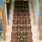 STAIR RUNNER INSTALLED OVER CARPET KANSAS CITY
