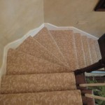STANTON WOOL STAIR RUNNER INSTALLED KANSAS CITY KANSAS