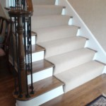 TRANSITIONAL STAIR RUNNER INSTALLED MISSION KANSAS