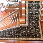 WOOL BLACK AND WHITE ORIENTAL STAIR RUNNER STANTON RUNNER KANSAS CITY KANSAS