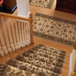WOOL ORIENATL STAIR RUNNER INSTALLED WITH MATCHING RUNNERS OLATHE KANSAS