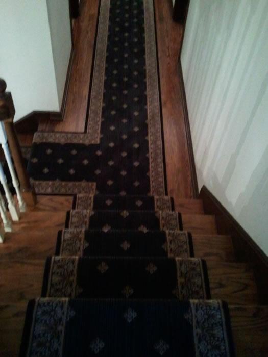 Black Stanton Stair Runner Kansas City Ks Area Rug