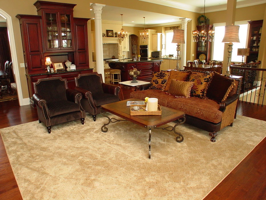 Custom Stanton Carpet Bound Into A Oversized Area Rug Overland Park Kansas