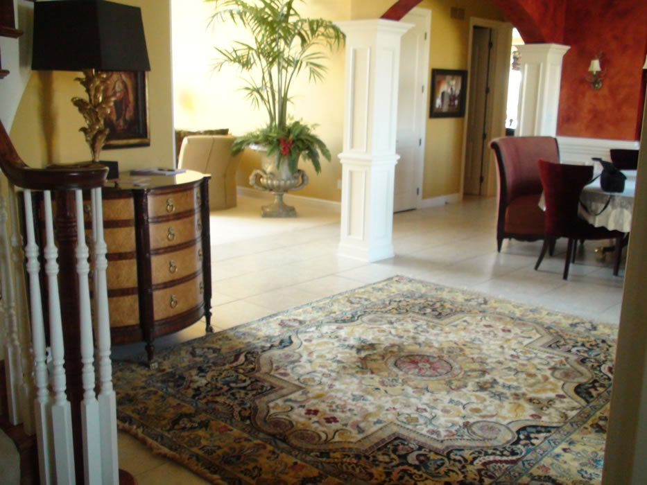Hand Knotted Oriental Entry Rug Overland Park Kansas