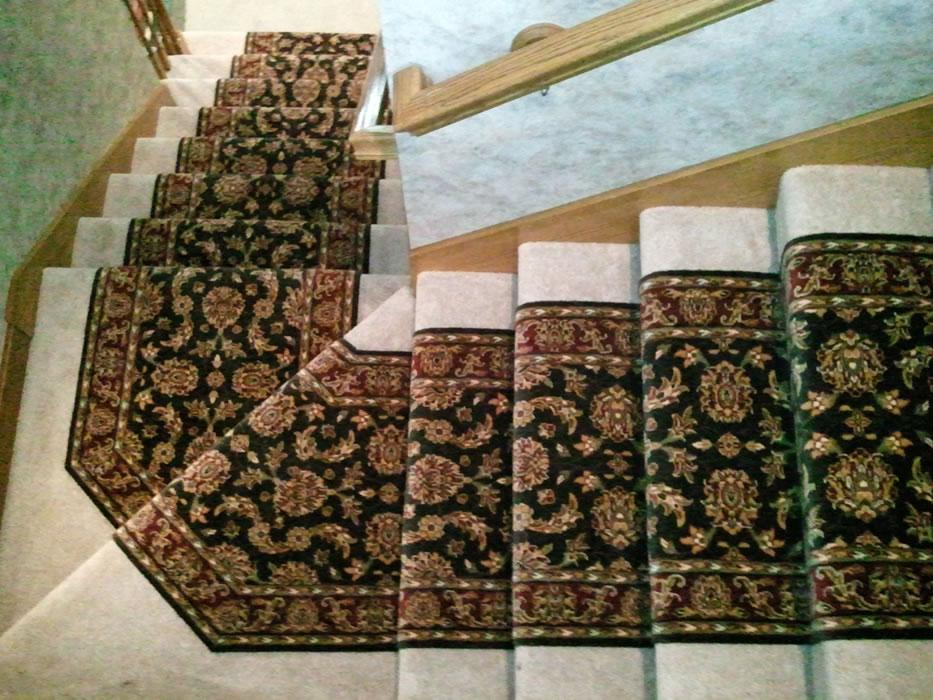 Stairs Runner Over Carpet - Carpet Ideas