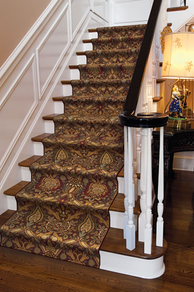 Transitional Stair Runner By Area Rug Dimensions Overland